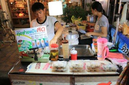Street food, marché nocturne de Chiang Mai