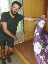 confortable , non ?Notre chambre à Ayutthaya