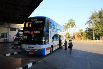 notre bus pour Ayutthaya