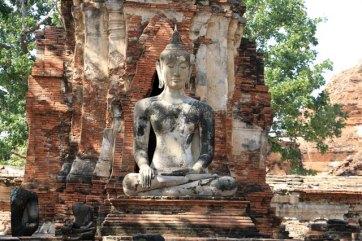Wat Mahathat à Ayutthaya