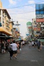 Khao San Road de jour, boutiques et bars