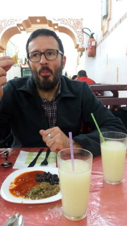 hum...ça pique !!!!! dîner à Pasta Casa