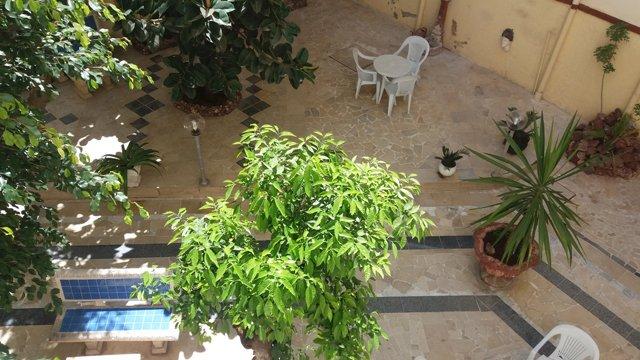 la vue depuis notre chambre