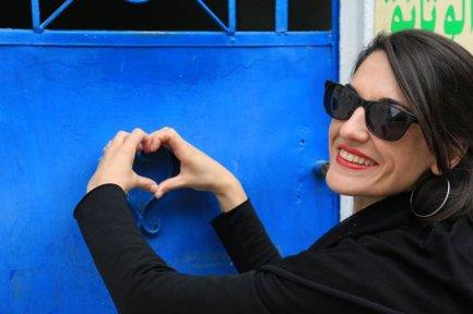 Laura dans la Médina