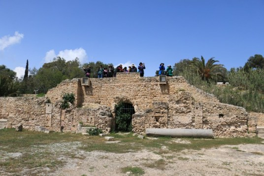 Touristes à Carthage