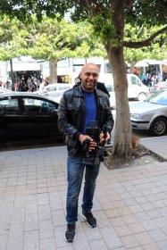Nizar Namouchi cameraman à ETTOUNSIYA TV
