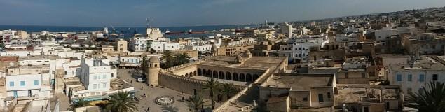 la vue depuis le Ribat dans la médina de Sousse
