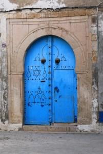 La Tunisie, le pays des chats mais aussi des jolies portes