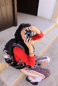 Laura reporter sans frontière dans la médina de Kairouan