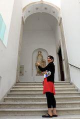 Laura nous montre le chemin, à moins que cela soit autre chose , au musée du Bardo