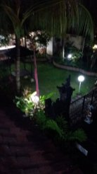 la vue depuis le balcon de ma chambre