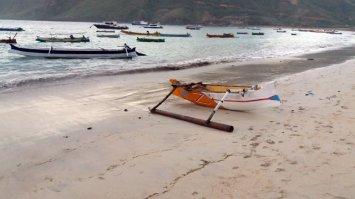 la plage de Kuta Lombok