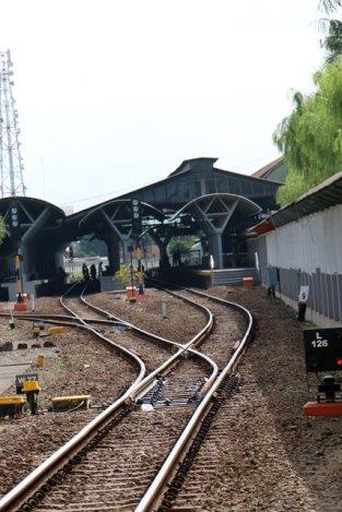la gare de Yogya