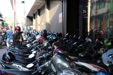 parking à scooters
