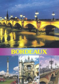 Carte postale de Bordeaux