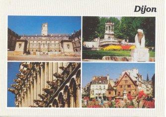 Carte postale de Dijon