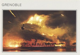 Carte postale de Grenoble