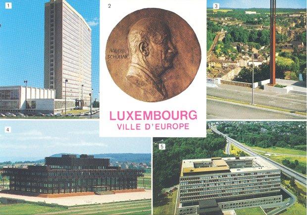 Carte postale du Luxembourg
