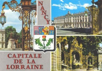 Carte postale de Nancy