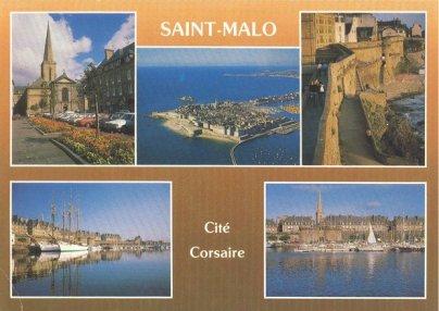 Carte postale de Saint Malo