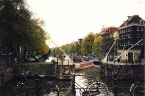Vélo et canaux à Amsterdam (RDV n°5 - Mes voyages avant...Internet...suite et fin)