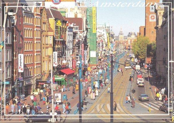 Amsterdam - carte postale (RDV n°5 - Mes voyages avant...Internet...suite et fin)