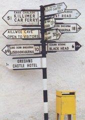 Carte poste d'Irlande (RDV n°5 - Mes voyages avant...Internet...suite et fin)