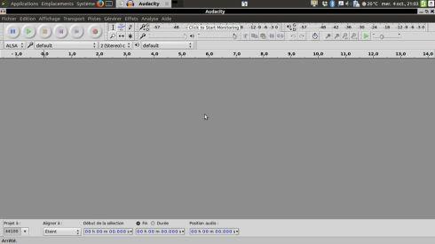 Audacity pour réaliser des montages audio
