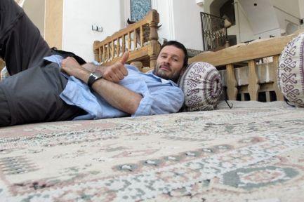 trop dure la vie dans mon hôtel à Yazd, le Traditional Kohan Hotel - l'autre ailleurs en Iran, une autre idée du voyage