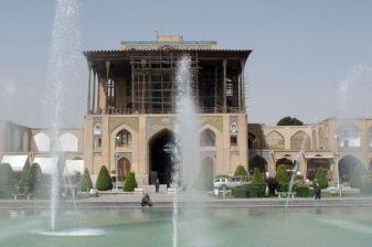 le palais d'Ali Qapu à Ispahan - l'autre ailleurs en Iran, une autre idée du voyage