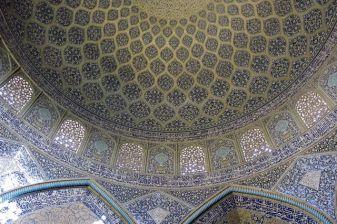 visite d'une mosquée à Ispahan - l'autre ailleurs en Iran, une autre idée du voyage