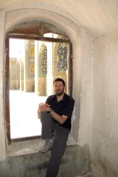 dans la mosquée de l'Imam