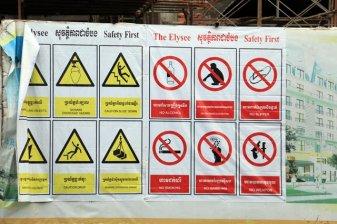 Mesures de sécurité - L'autre ailleurs au Cambodge