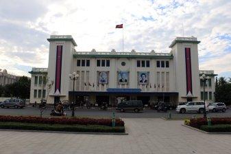 la gare de train de Phnom Penh - L'autre ailleurs au Cambodge