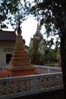 dans un temple à Battambang - L'autre ailleurs au Cambodge