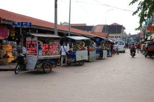 le vieux marché à Siem Reap - L'autre ailleurs au Cambodge