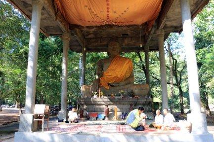 les temples d'Angkor - près du temple le Bayon