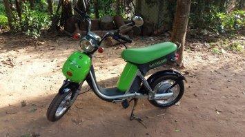 mon bolide électrique à Siam Reap