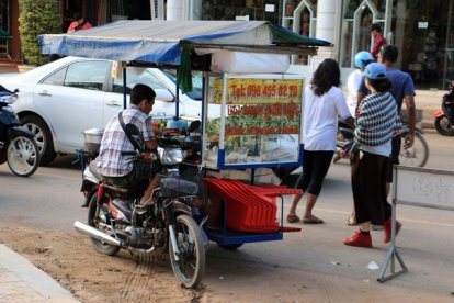 street food à Siem Reap