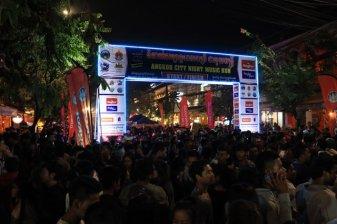 la folie du 31 décembre à Siem Reap