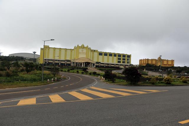 Le tout nouveau casino dans le parc national de Bokor près de Kampot