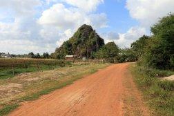 sur la route des grottes près de la ville de Kampong Trach (à 13km à l'est de Kep)