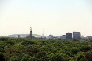 La vue sur le parc depuis le dôme du Bundestag (http://www.autre-ailleurs.fr)