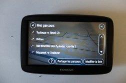 Choix des parcours (GPS Tomtom) - l'autre ailleurs, une autre idée du voyage