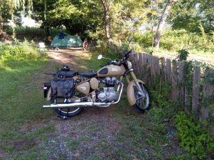 au camping de St-Lary (moto road trip) - l'autre ailleurs, une autre idée du voyage