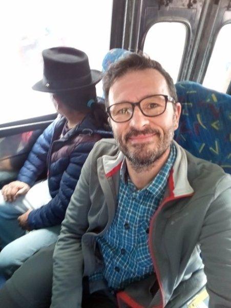dans le bus à Otavalo - l'autre ailleurs, une autre idée du voyage