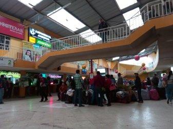 terminal de bus à Ipiales - l'autre ailleurs en Colombie, une autre idée du voyage