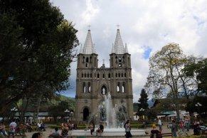 Basilique de l'immaculée conception à Jardin - l'autre ailleurs en Colombie, une autre idée du voyage