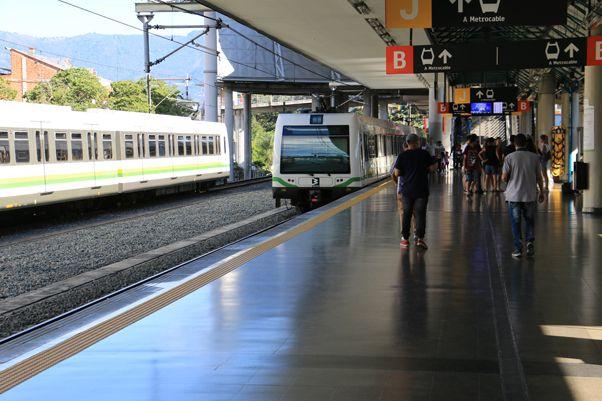 métro de Medellín - l'autre ailleurs en Colombie, une autre idée du voyage
