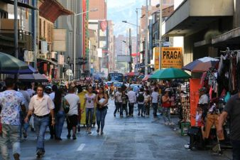 centre ville de Medellín - l'autre ailleurs en Colombie, une autre idée du voyage
